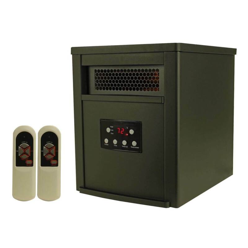 LifeSmart 6 Element 1500W Electric Infrared Room Space Heater (Open Box)