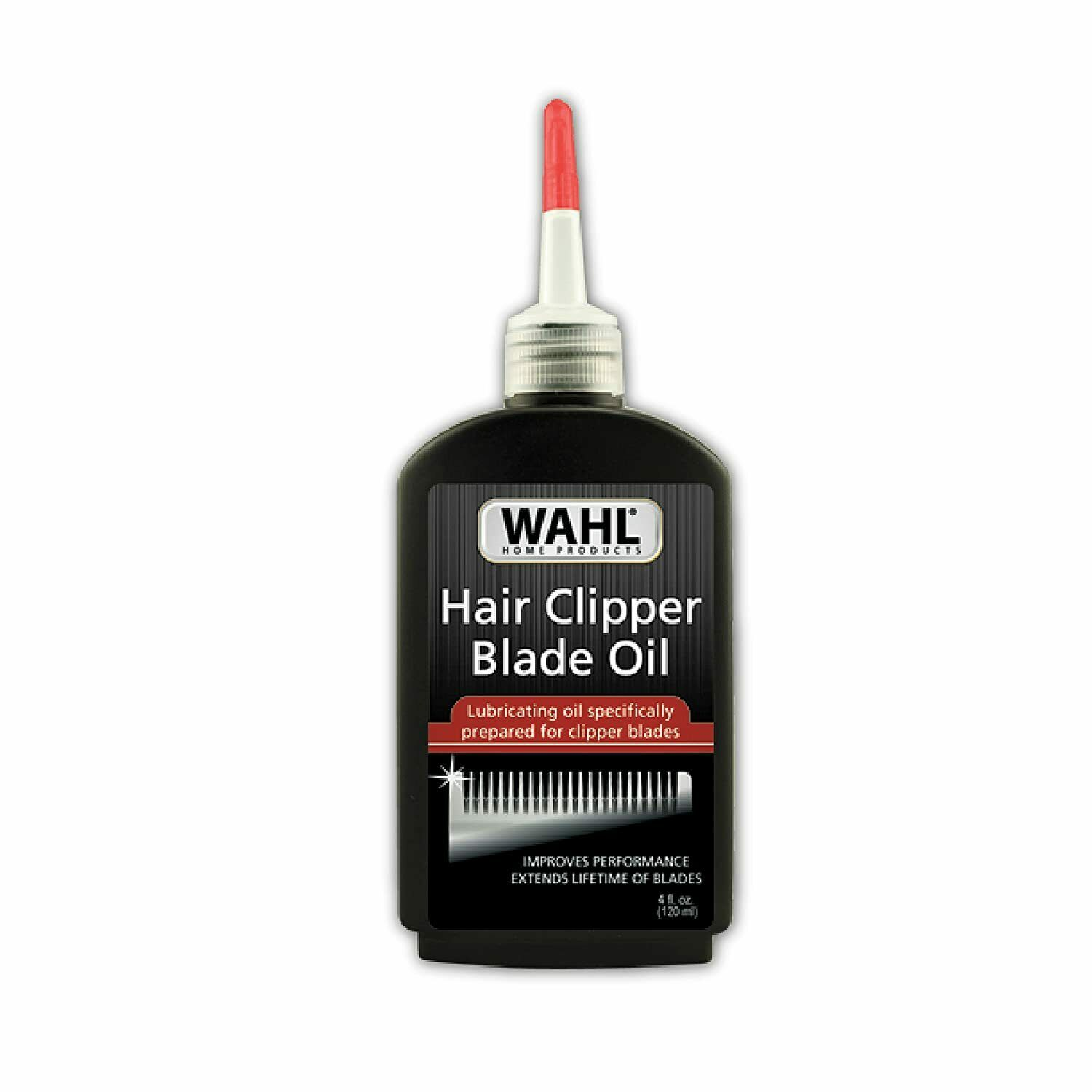 Wahl Premium Hair Clipper Blade Lubricating Oil for Clippers and Trimmers, 4 oz