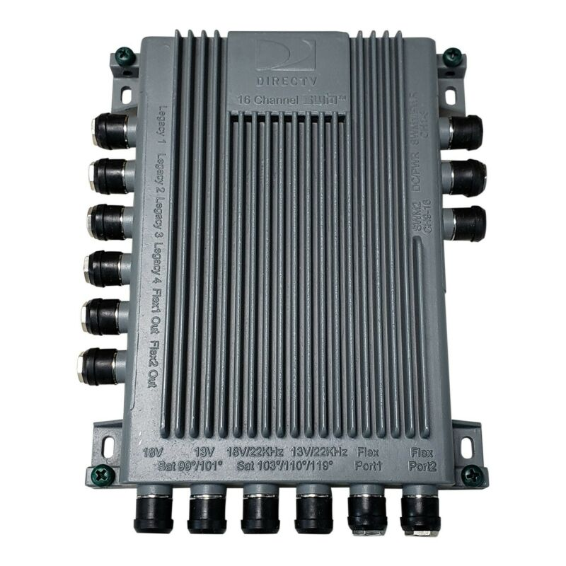 NEW DIRECTV Module SWM 16 Model SWM16R1-03 Single Wire 16 Channel Multi-switch