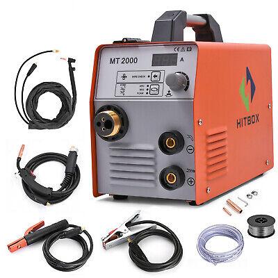 Hitbox Mig Welder 220v Gasgasless Arc Mig Mag Lift Tig Welding W Tig Gun