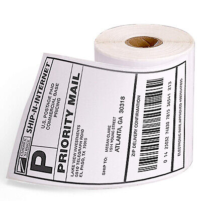 Compatible Dymo 4xl 1744907 Direct Thermal Shipping Labels 4x6 Jumbo 220roll Us