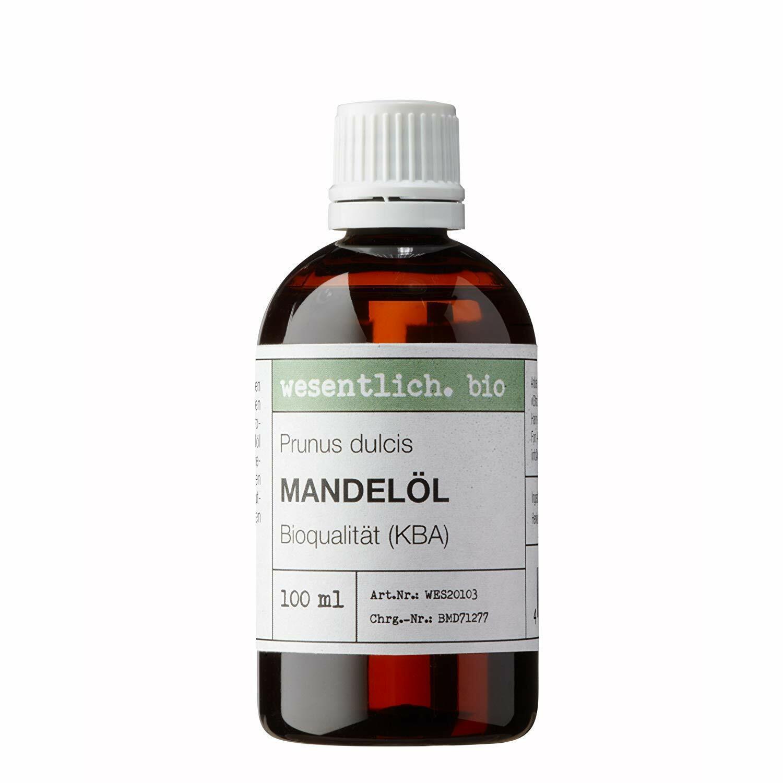 Mandelöl BIO kaltgepresst 100ml (Prunus Dulcis) von wesentlich.