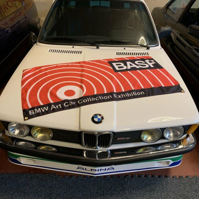 BMW Art Car Collection BASF Banner bimmer M1 Turbo Procar 1980s Motorsport Flag