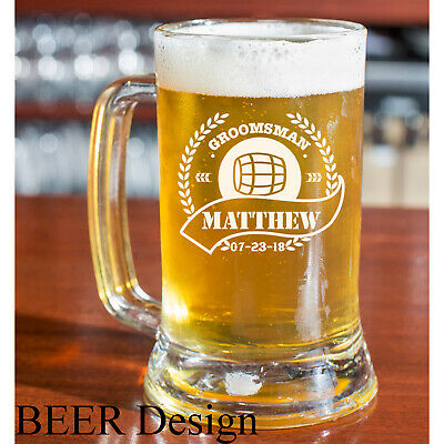 Personalized | Custom Engraved Beer Mug 16oz