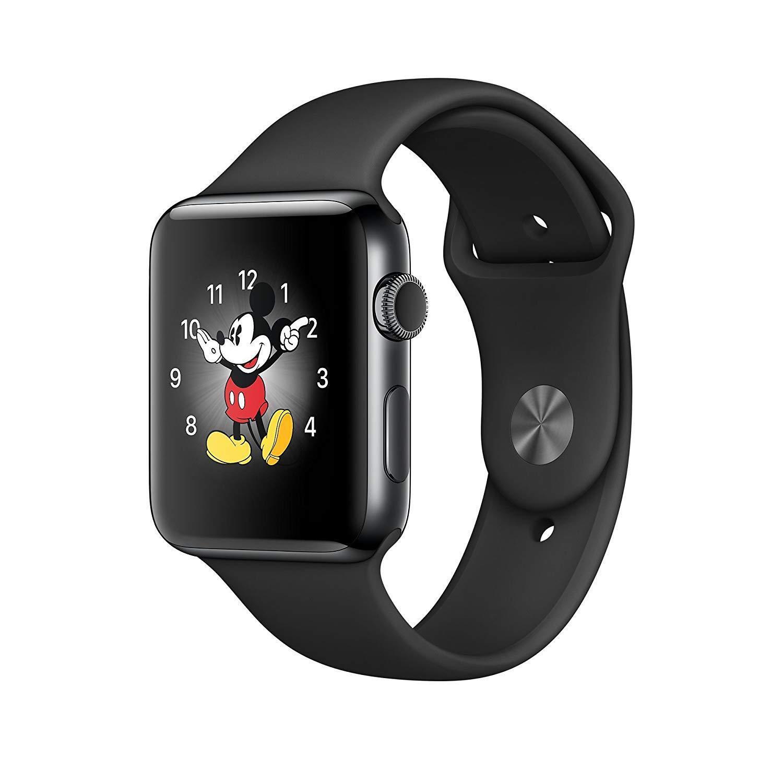 Apple Watch Series 2 42mm 38mm WiFi Stainless Steel Sport Band Smartwatch Black