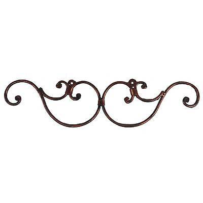 Wrought Iron Scrolls Picture Photo Mirror Frame Display Window Decor Grill Art ()