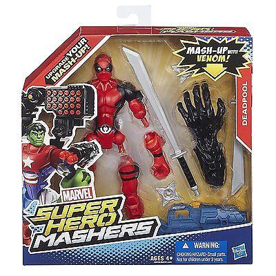 Marvel Super Hero Mashers Deadpool Action Figure Mash-Up With Venom(See Listing)