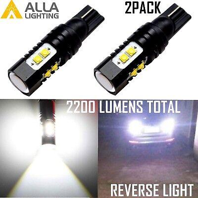 Alla Lighting 50W 921 912 T15 Super Bright White LED Bulbs Back Up Reverse Light