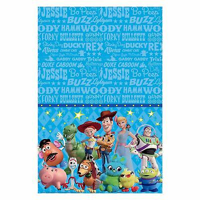 Toy Story Birthday Party Supplies (Disney Toy Story 4- 1X Plastic Table Cover Birthday Party Supplies)