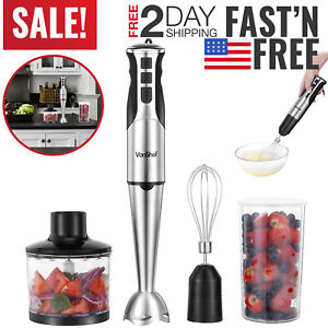 Hand Blender Immersion Stick Electric Chopper Emulsion Hand Held Mixer Electric