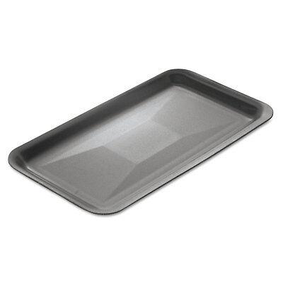 Genpak Supermarket Trays Foam White 13 78 X 10 X 1 14 100carton 1014wh