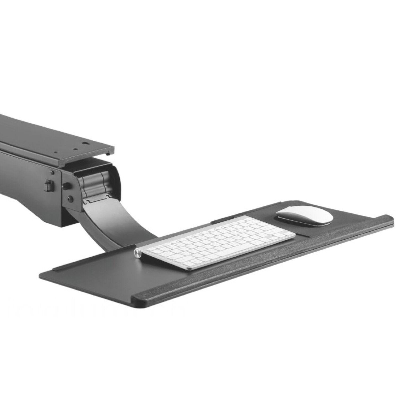 Tastaturauszug schwarz Ablage esche schwarz Schreibtisch Schublade Untertisch