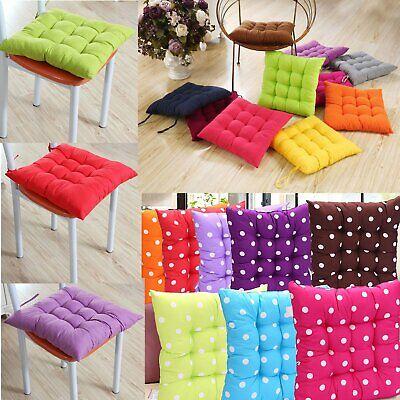 1/2/4/6/8 Packs Chair Cushions Seat Pads Mat  Soft Home Garden Patio Dinning