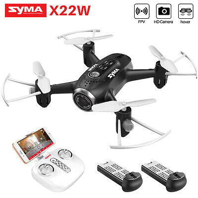 UK RC Drone Quadcopter With 3MP HD Camera WIFI FPV 6-Axis Hover Altitude Hold
