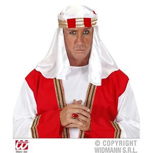 New Adult Deluxe Arab Headdress Turban Hat Fancy Dress Accessories