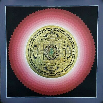 US SELLER- Tibetan Buddhist Mandala of Green tara art poster best wall -