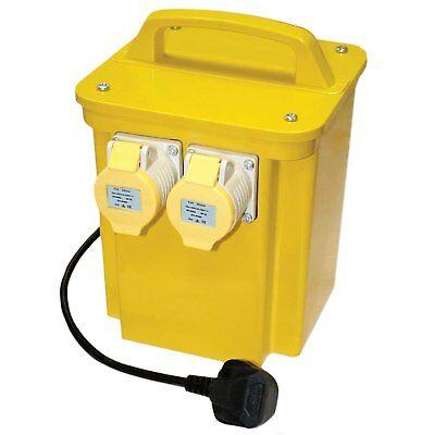 Portable 3.3KVA Tool Transformer 110V Twin Outlet 16 AMP 3.3KVA