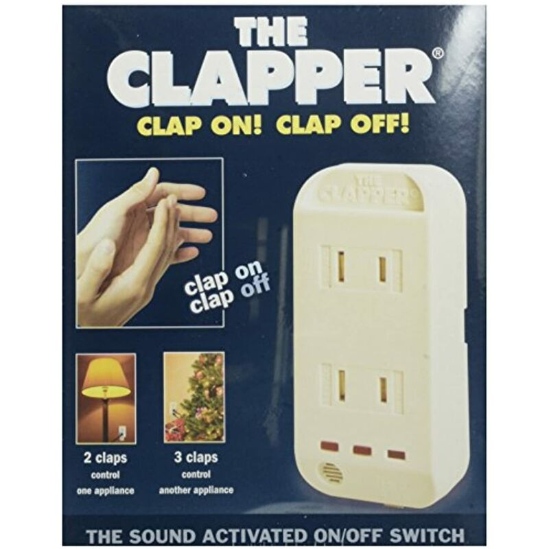 The Clapper Sound Activated On/Off Switch, 1 Count