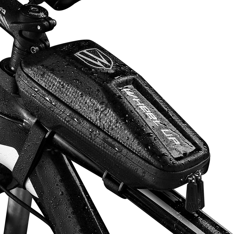 Waterproof EVA Bike Bag Bicycle Top Tube Front Frame Phone H