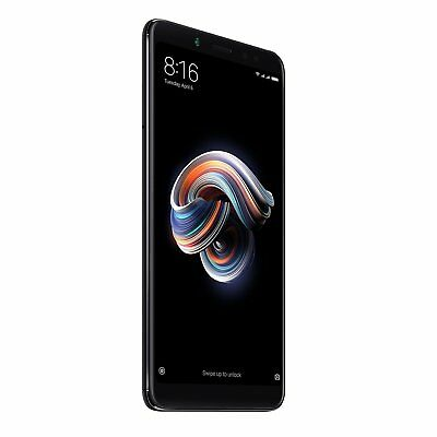XIAOMI REDMI NOTE 5 SMARTPHONE 64 GB NERO BLACK GLOBAL 4GB RAM BANDA 20 DUAL SIM