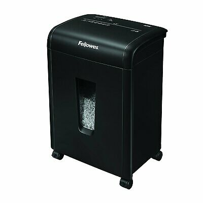 Fellowes Refurbished 62mc 10-sheet Micro-cut Home And Office Paper Shredder With
