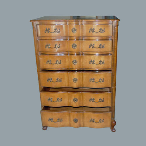 Dresser Highboy French Provincial Chest of Drawers Storage Neoclassical