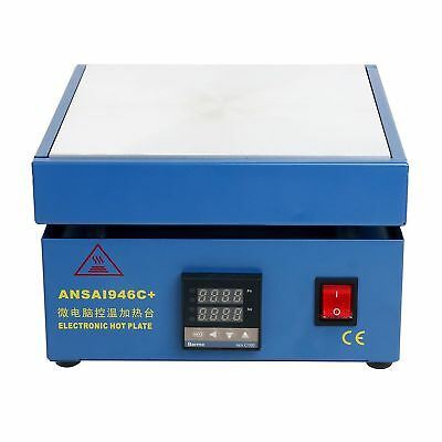 110V Electronic Hot Plate Preheat Preheating Station Lab 800W 200*200mm US SHIP for sale  USA
