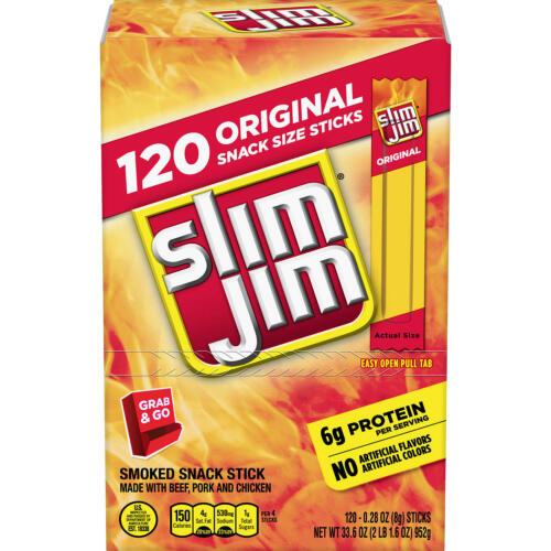 Slim Jim Original 120 ct.Perfect Deal