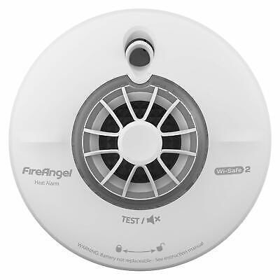 FireAngel WHT-630Q - Thermistek Heat Alarm - Wireless Interlink Wi-Safe 2