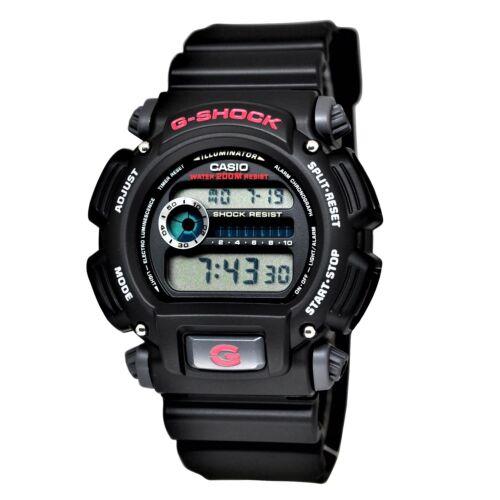 Купить Casio Men's DW9052-1V G-Shock Black Stainless Steel and Resin Digital Watch