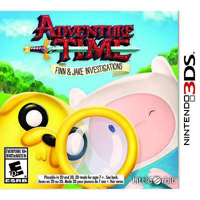 Adventure Time: Finn & Jake Investigations 3DS [Brand New]