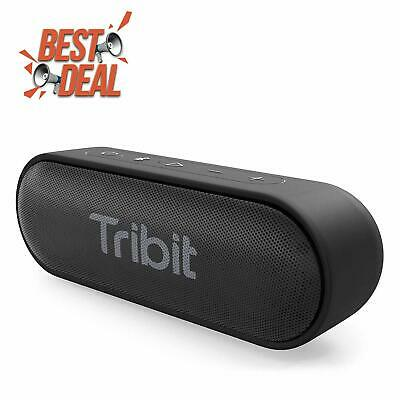 Bluetooth Speakers, Tribit XSound Go 12W Portable Speaker Loud Stereo black