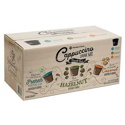 Member's Mark Cappuccino Variety Pack (0.53 oz. cups, 54 ct.) *BEST DEALS IN