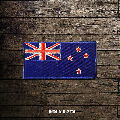 New Zealand National Flag Embroidered Iron On Sew On Patch Badge