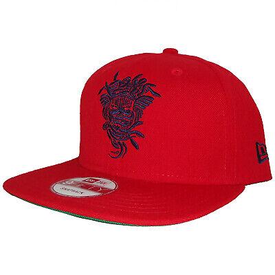 New Era Crooks & Castles Medusa Voodoo Shaman Tribal 9Fifty Snapback Cap Hat-Red