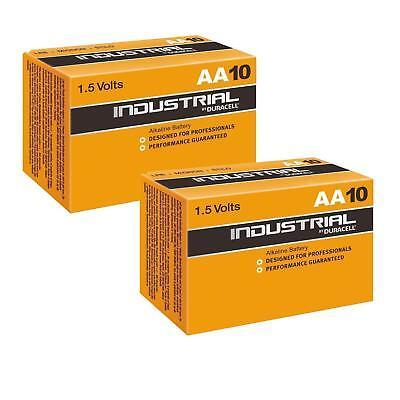Duracell AA Batteries 20 X Industrial Duracel Battery Alkaline LR6 1.5V MN1500