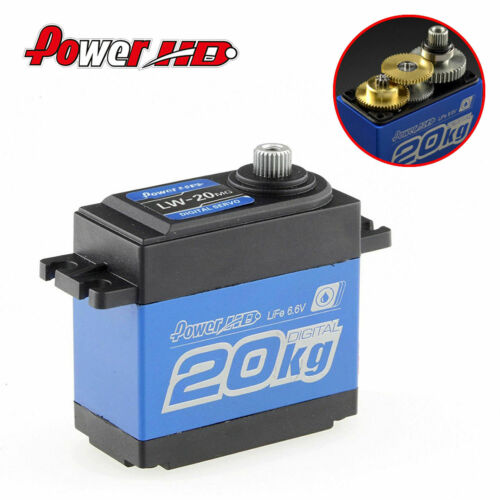Power HD LW-20MG 0.16S  Standard Waterproof Digital High Torque Steering Servo