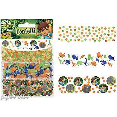 Go Diego Go Birthday Confetti Decorations Bag Fillers Party Supplies Favors](Diego Birthday Party)