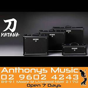 Boss KATANA NOW IN STOCK- ANTHONYS MUSIC - LIVERPOOL 02******4243 Liverpool Liverpool Area Preview