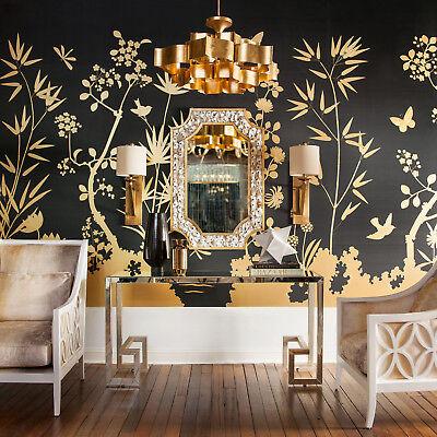 CURREY & CO Grand Lotus 6 Light Chandelier 9494 Gold Modern Regency Moroccan