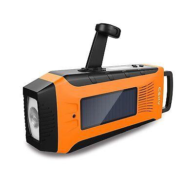 Emergency Radios Esky Hand Crank Radio Weather Radios Solar Self Powered AM/F...