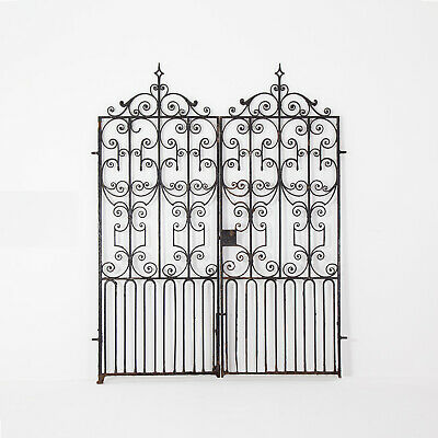 Pair of Regency Wrought Iron Gates. Circa 1820. Architectural & Salvage Antiques