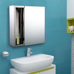 """Miroir Mural Armoire 16"""" x 16"""" Monté au Mur"""