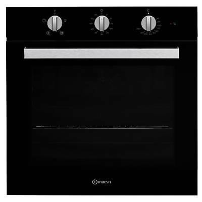 Indesit Aria IFW6330BLUK Built-in Single Fan Oven Black
