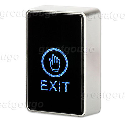 Door Release Request Button Touch Exit Switch with LED Back Light Access Control