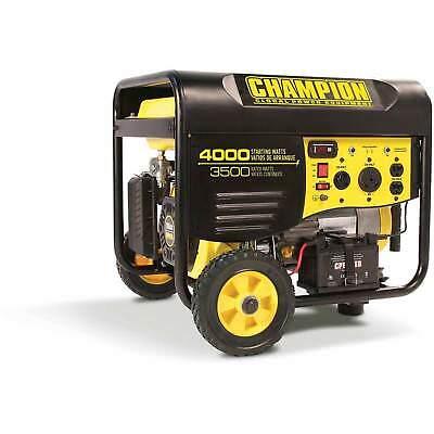 Champion 4000-w Portable Rv Ready Gasoline Powered Generator With Remote Start