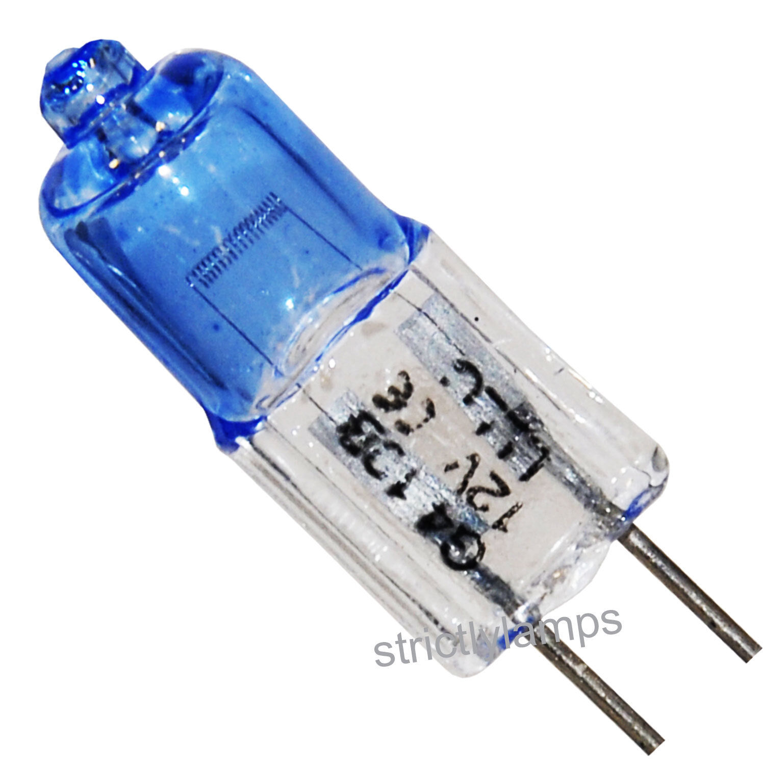10 x white light g4 12v halogen light bulb capsule 10w blue bulb g4 ebay. Black Bedroom Furniture Sets. Home Design Ideas