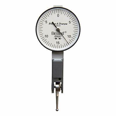 Brown Sharpe Tesa 599-7031-3 1.5 Dial Dia. 0-0.03 Range Test Indicator Set