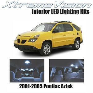 XtremeVision LED for Pontiac Aztek 2001-2005 (7 Pieces) Cool White Premium Inter