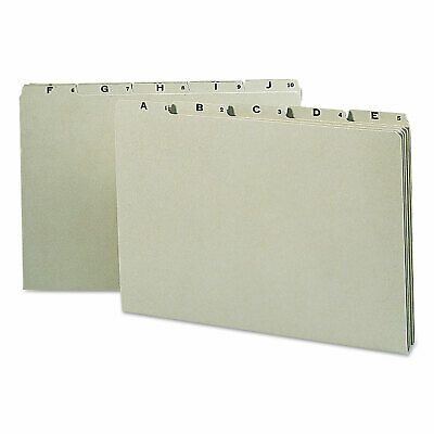 Smead Recycled Top Tab File Guides Alpha 15 Tab Pressboard Legal 25set 52376